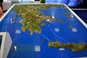 A 3D Map of Greece