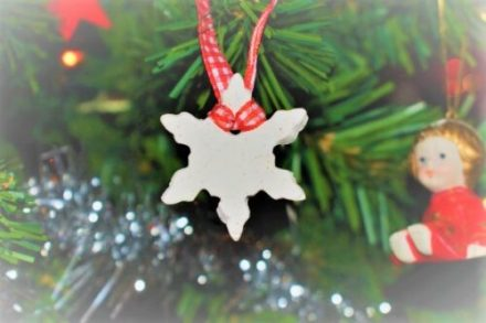 DIY White Clay Ornaments