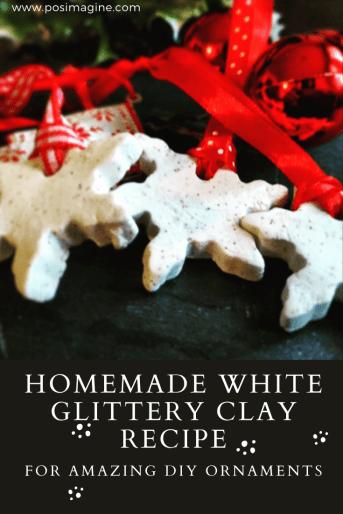 DIY White Clay Ornaments recipe