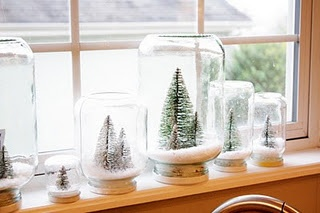 trees in globes