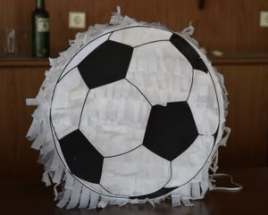 Our DIY Soccer Pinata