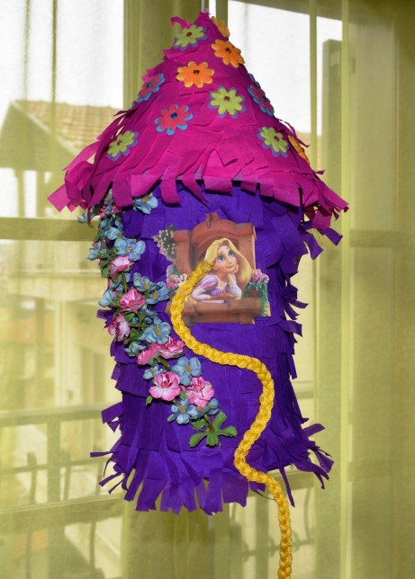Tangled Birthday party The DIY Rapunzel Pinata