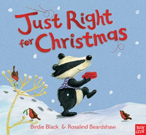 just right for christmas book