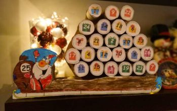 Our DIY Advent Calendar for Kids