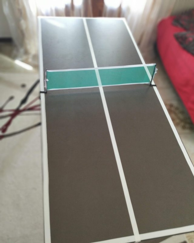 diy table tennis table