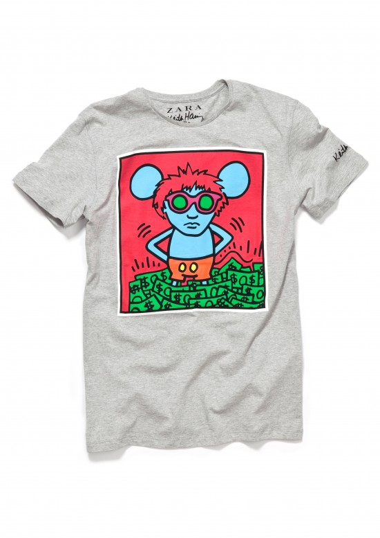 ff4c27bc Zara + Keith Haring - Positive Magazine