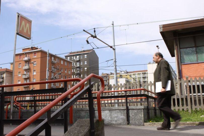 Milano, fermata metro