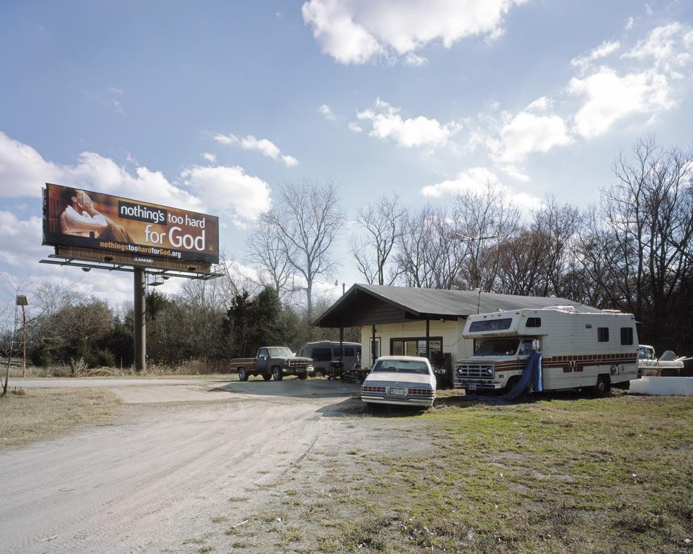 God Advertisement, Terrell TX