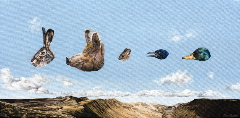 Untitled Heads, Amy Guidry, Positive, positive magazine, Surrealism,