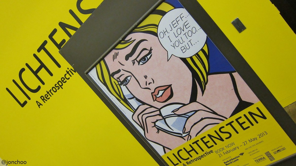 Roy Lichtenstein Retrospective Tate Modern London