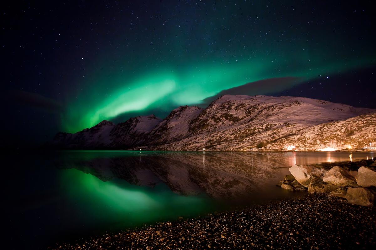 Water Mirror, Tromso, Norway