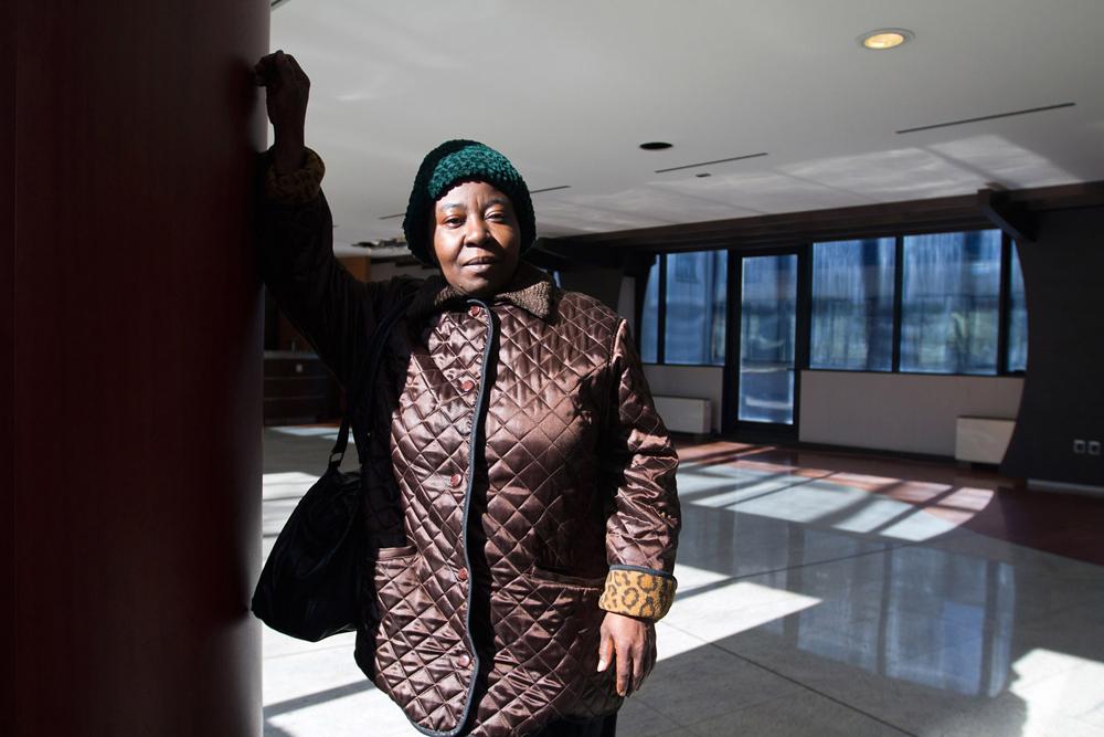 3. Agnes, 52, Nigeria, nicknamed Mama Africa