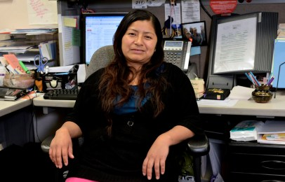 Mixteca secretary at school distric Oxnard, CA