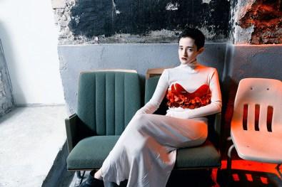 Dress : SIMONE KLIMMECK, Bustier : ANNA LUKASEK