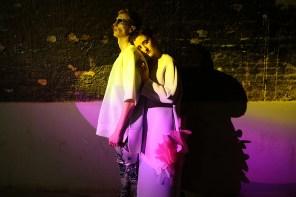 ( Marlene ) Coat : ANNA LUKASEK ( Robbi ) Oversized Top & Pants : FRANZISKA MICHAEL , Sunnies : CAST EYEWEAR