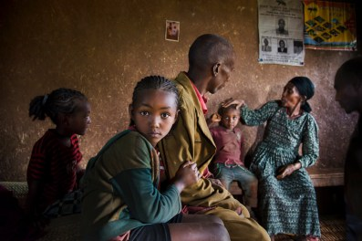 Ethiopia. Photo Courtesy Steve McCurry / Lavazza
