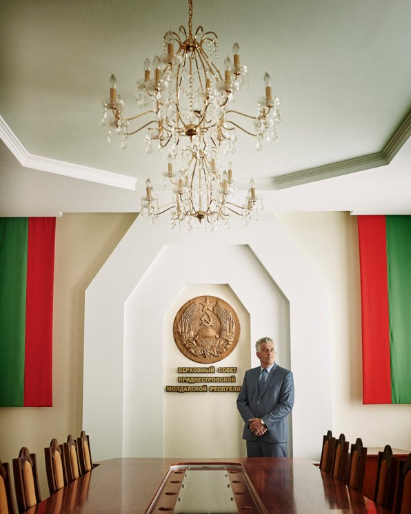 Sergey Cheban - Deputy Speaker of the Supreme Soviet of Transnistrian Moldovan Republic