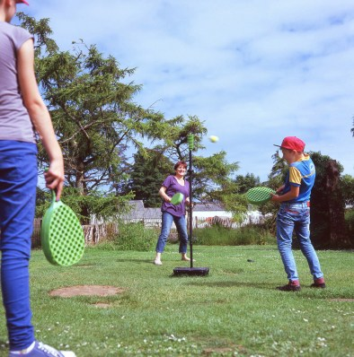 Palina Shyltsava, Gill and Yahor play Swingball at the Manor house Park near Tenby in West Wales, U.K. The children will spend up to a month with host families around the Pembrokeshire area of the U.K. An astonishing 85 per cent of Belarusian children are deemed to be Chernobyl victims: they carry Ògenetic markersÓ that could affect their health at any time and can be passed on to the next generation. A vicious cycle that unfortunately could continue for hundreds if not thousands of years. From the series 'The Healing Land'