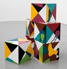 Teresa Burga,Cubes 1968, Private Collection