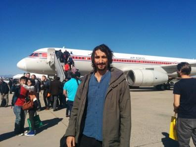 Andrea Gesmundo just arrived in North Korea.