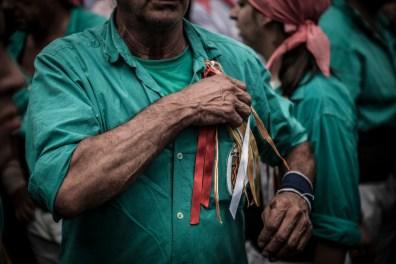 Man with amuletes