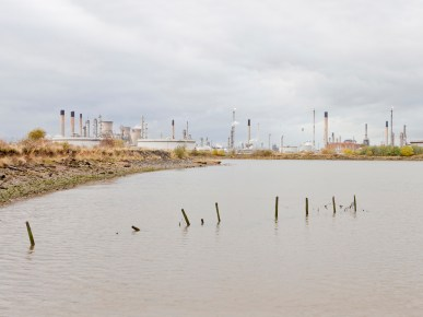 Grangemouth Falkirk 2012During WWII the airfield was used in the storage of bulk mustard gas. According to former crew stationed there, secret experiments involving the spraying of mustard gas took place. Today the site is occupied by INEOS. A giant petro-chemical complex that supplies most of the petrol for Ireland and the UK