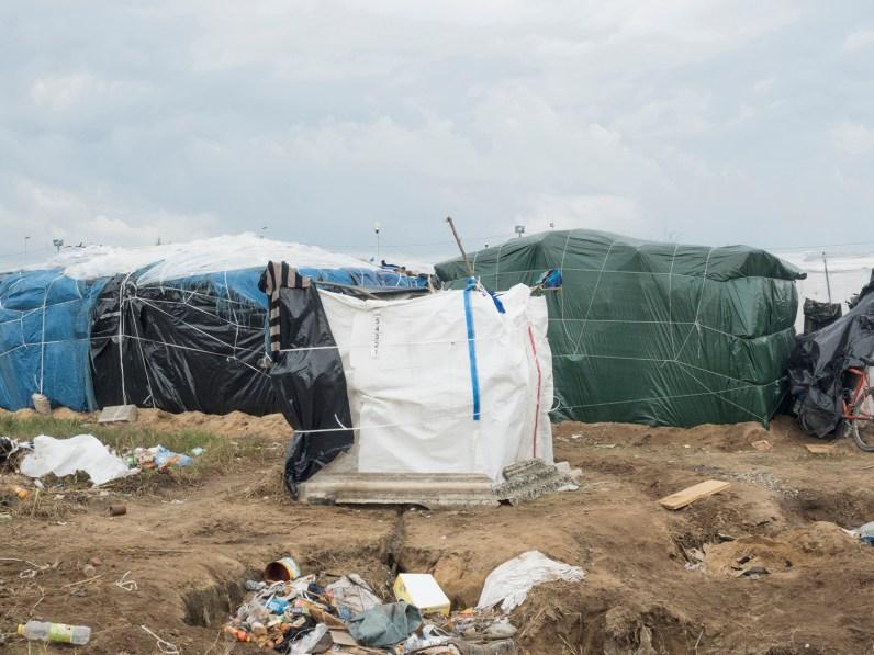 Italy, Calabria, Rosano. 2015. A bathroom in the ghetto.