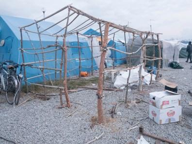 Italy, Calabria, Rosano. 2015. A home under construction in the ghetto.