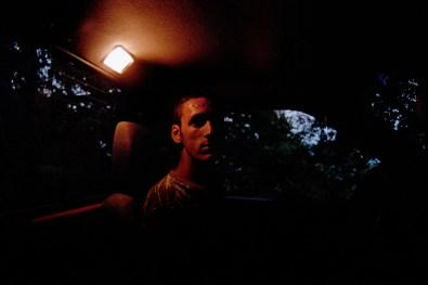 Alexandros in the truck witch belongs to Kiriakos father.