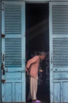 Elderly woman in Hội An