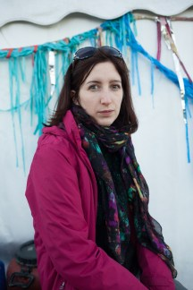 """Ayesha Keller (26) from Scotland gave up her old life in order to build up the NGO """"Better Days for Moria"""". """"These aren't masses of people, that are people. At home I almost could not get up anymore, I needed to help."""""""
