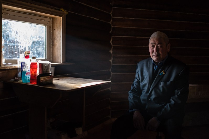 "Ust-Ordynsky settlement, in the yurt of Local religious organization of shamans ""Heavenly lights""."