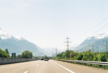 1. Highway outside Lausanne