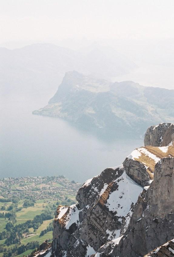 View from Mount Pilatus (2132m)