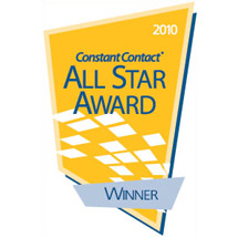 Constant Contact Email Marketing Award