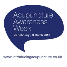 Acupuncture Awareness Week 2013 at The Mitchell Hill Clinic