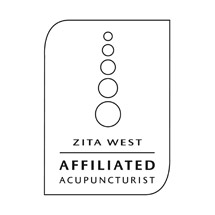 Zita West Affiliated Acupuncturist Logo