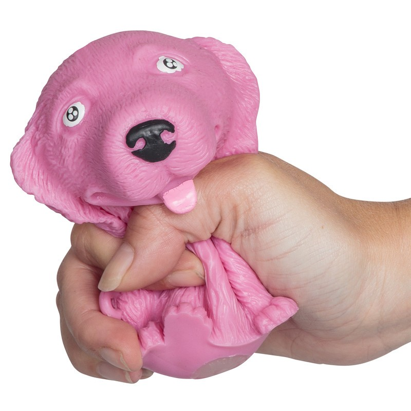 Puffy Pooch Squeezy Stress Toy Aids For Sensory And