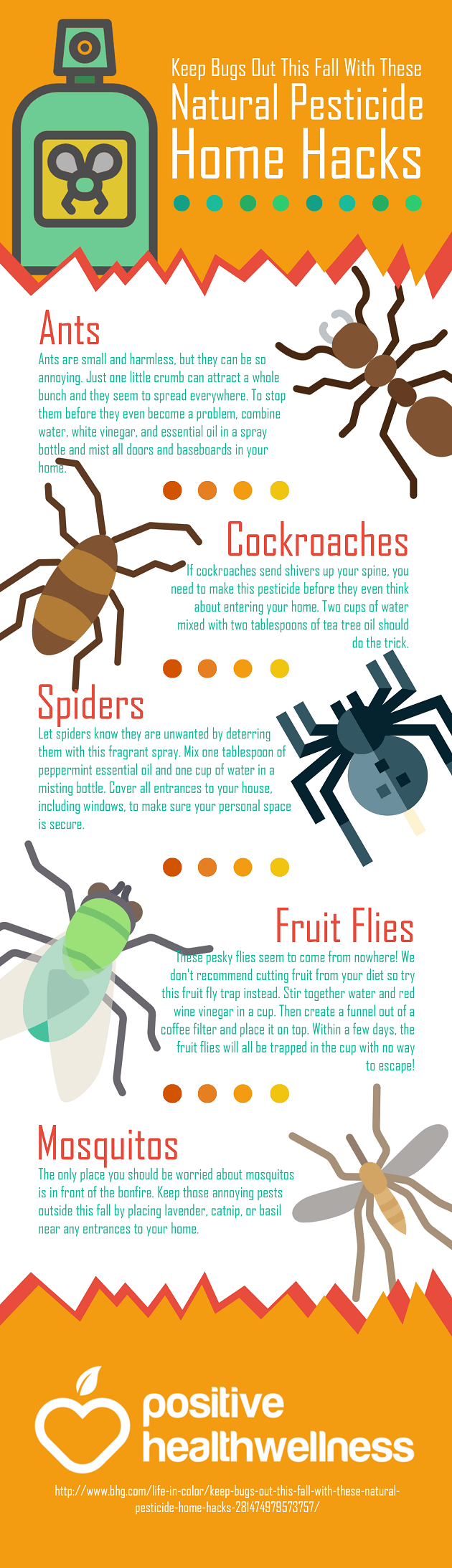 Keep Bugs Out This Fall With These Natural Pesticide Home Hacks