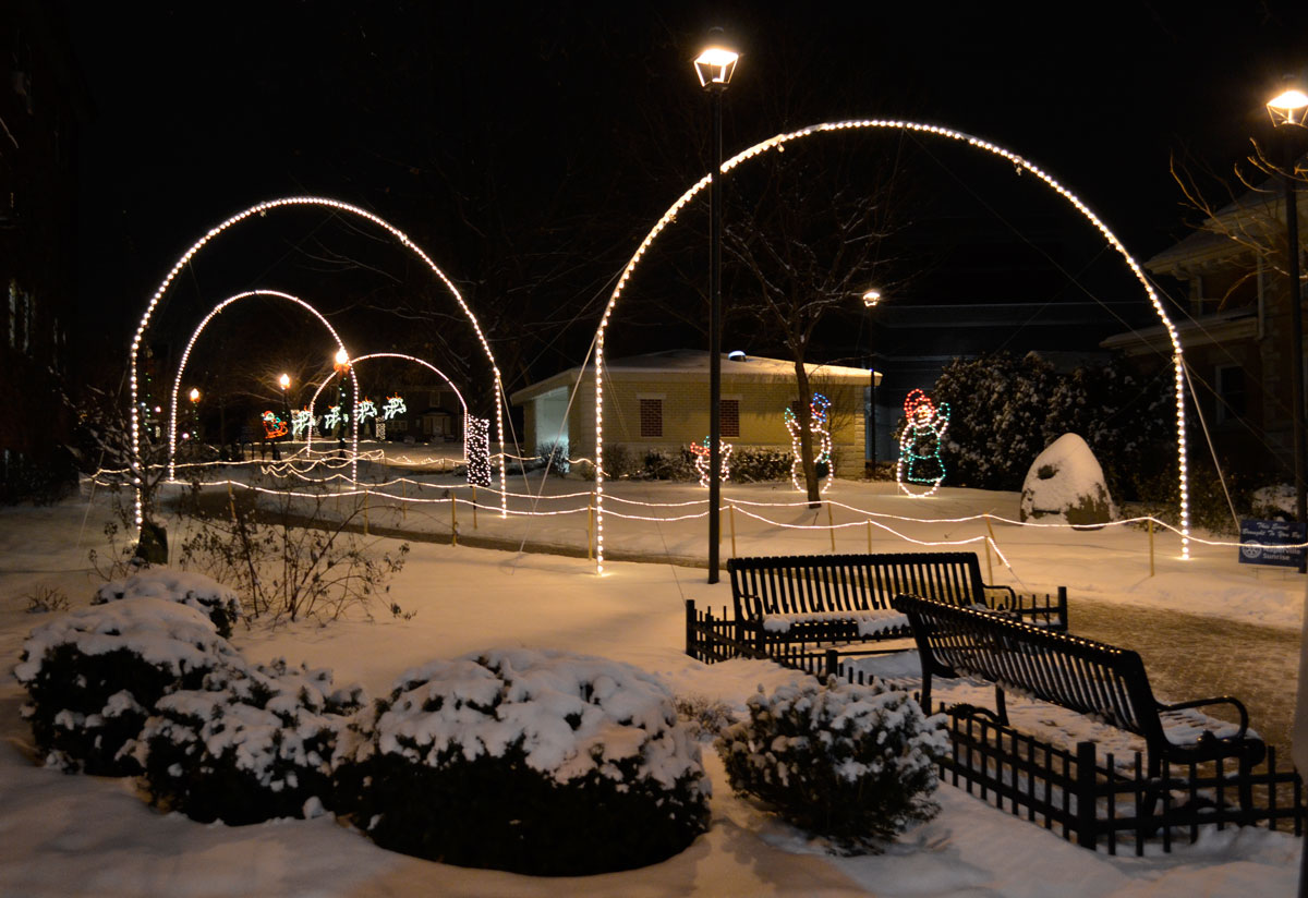 naper lights comes to life with colorful movement this holiday