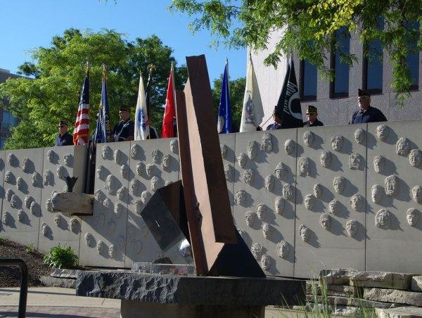 Memorial Day Flag Raising Ceremonies 7 45am