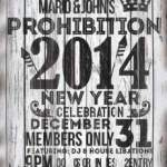 Petaluma Active 20-30 at Mario & John's! Mario & John's Prohibition 2014 New Year's Eve Celebration