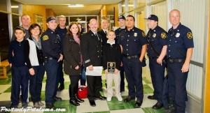 Petaluma Fire with Joe Kelly and family