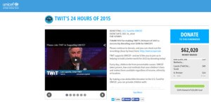 Leo Laporte Twit tv Raises Over $60K for UNICEF