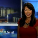 Janelle Wang NBC Bay Area Announcing Petalumas Butter & Egg Day Parade