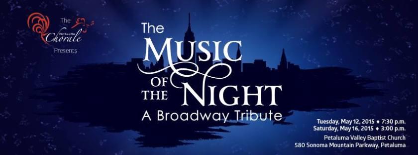 Petaluma Chorale Music of The Night