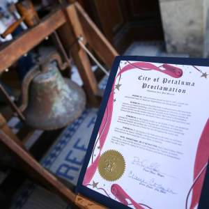 Petaluma City Proclomation of Annual Bell Ringing