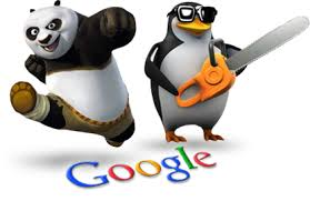 Google Penguins and Pandas
