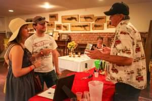 Doug Olson Owner of Sonoma Coast Spiritis At Taste of Petaluma
