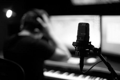 Jasha Klebe Petaluma Composer Studio Mic & Headphones